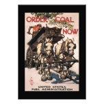 Order Coal Now World War II Announcement