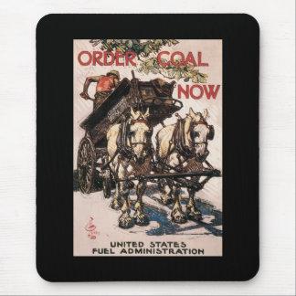 Order Coal Now World War II Mousepad