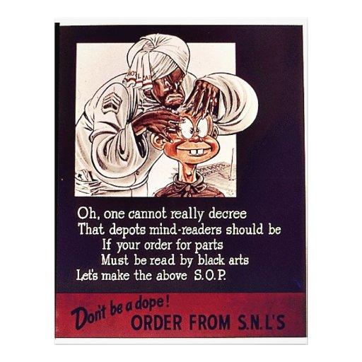 Order From S.N.L's Custom Flyer