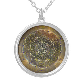 Order in the Chaos Silver Plated Necklace
