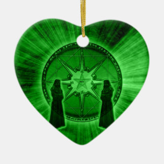 Order of Chaos Ceramic Heart Decoration