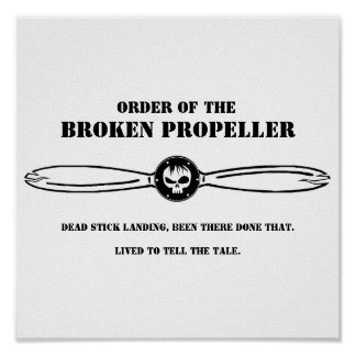 Order of the Broken Propeller Poster