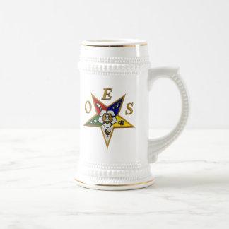 ORDER of the EASTERN STAR Beer Stein