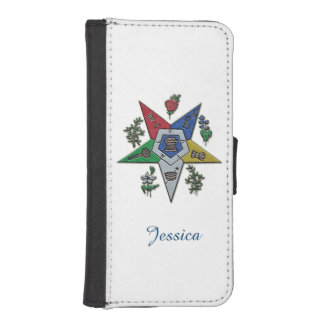 Order Of The Eastern Star iPhone SE/5/5s Wallet Case