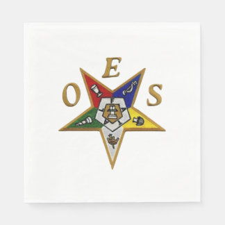 ORDER of the EASTERN STAR LUNCHEON NAPKINS Paper Serviettes