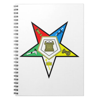 ORDER OF THE EASTERN STAR NOTEBOOK