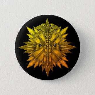 Order of the Golden Kite 6 Cm Round Badge