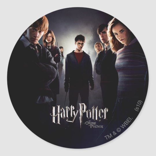 Order of the Phoenix - French 1 Classic Round Sticker