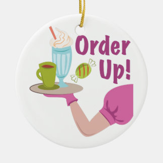 Order Up! Christmas Ornament