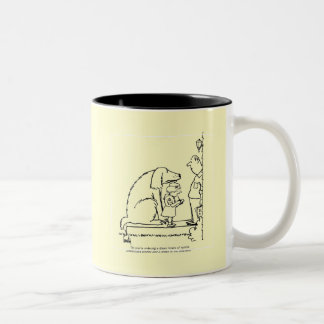 Ordering Cookies Two-Tone Coffee Mug