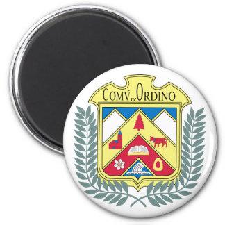 Ordino, Andorra 6 Cm Round Magnet
