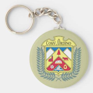 Ordino, Andorra Basic Round Button Key Ring