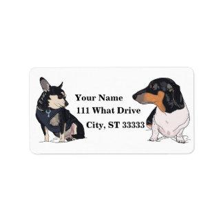 ore pet address labels