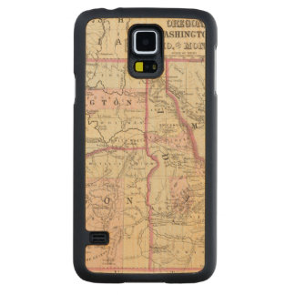 Ore, Wash, Ida, Mont Carved Maple Galaxy S5 Case