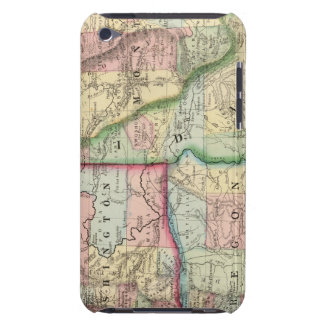 Ore, Wash, Idaho, Mont Map by Mitchell iPod Touch Case