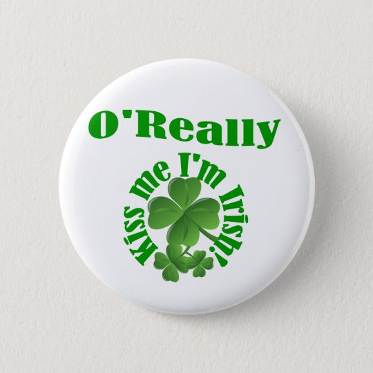O'Really, Irish surname 6 Cm Round Badge