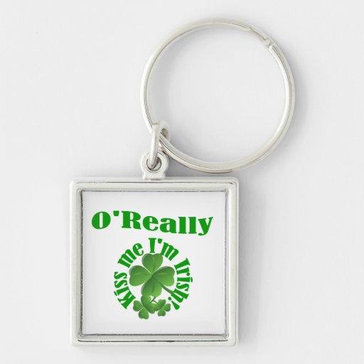 O'Really, Irish surname Keychains
