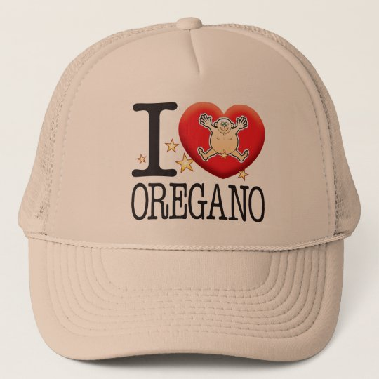 Oregano Love Man Trucker Hat