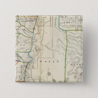 Oregon 2 15 cm square badge