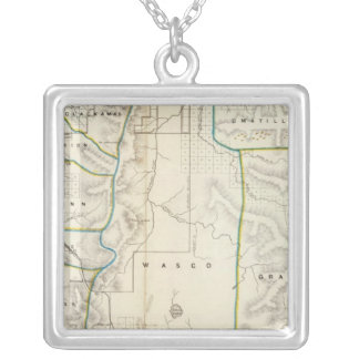 Oregon 2 silver plated necklace