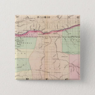 Oregon 3 15 cm square badge