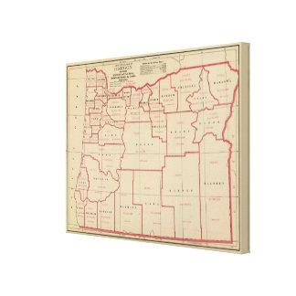 Oregon agric, farm values, products, acreages canvas print