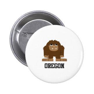 Oregon Bigfoot 6 Cm Round Badge