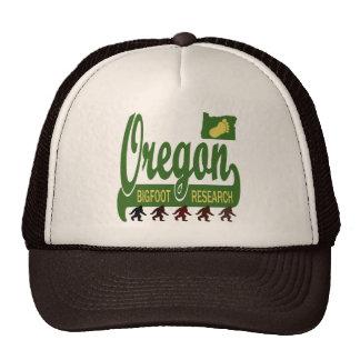 Oregon Bigfoot Research Cap