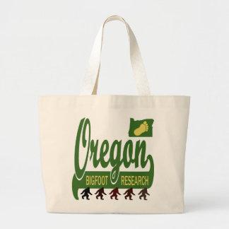 Oregon Bigfoot Research Large Tote Bag