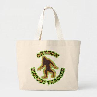 Oregon Bigfoot Tracker Large Tote Bag