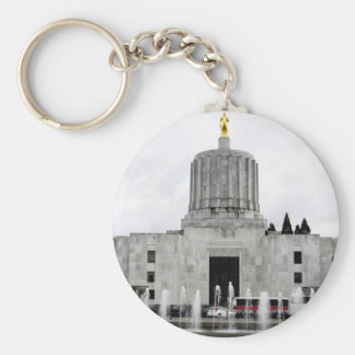 Oregon Capitol Key Ring