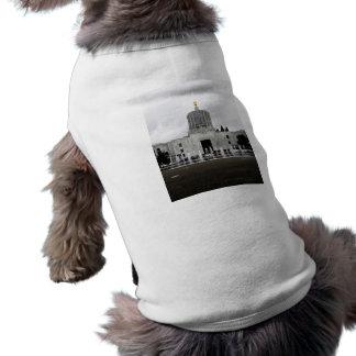 Oregon Capitol Sleeveless Dog Shirt