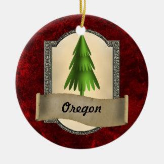 Oregon Christmas Ornament