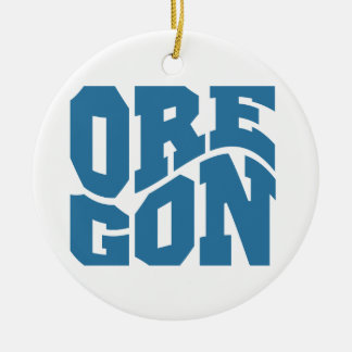 Oregon Christmas Ornament