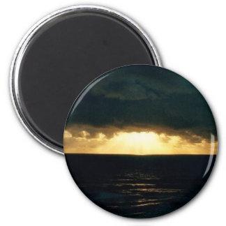 Oregon Coast 6 Cm Round Magnet