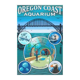 Oregon Coast Aquarium Canvas Print