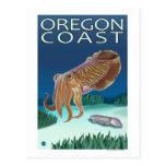 Oregon Coast Cuttlefish Postcard