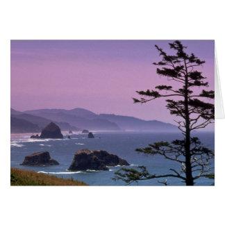 Oregon coast, Ecola State Park, Oregon Greeting Card