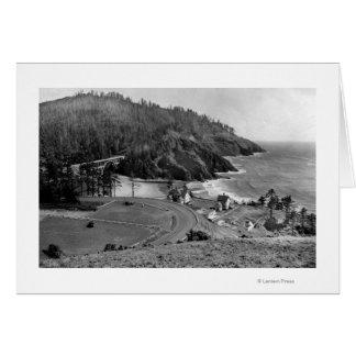 Oregon Coast Highway at Heceta Head Card