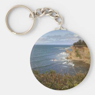 Oregon coast key ring