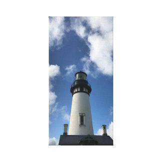 Oregon Coast Lighthouse Canvas