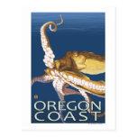Oregon Coast Octopus Post Cards