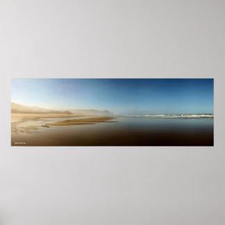 Oregon Coast Panorama II Poster