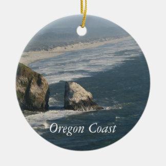 Oregon Coast Rocks Christmas Ornament