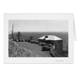 Oregon Coast Sea Lion Caves Main Office Greeting Cards