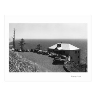 Oregon Coast Sea Lion Caves Main Office Postcard