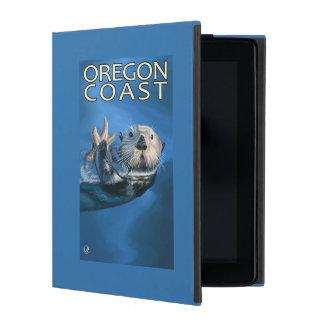 Oregon Coast Sea Otter iPad Case