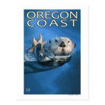 Oregon Coast Sea Otter Postcards