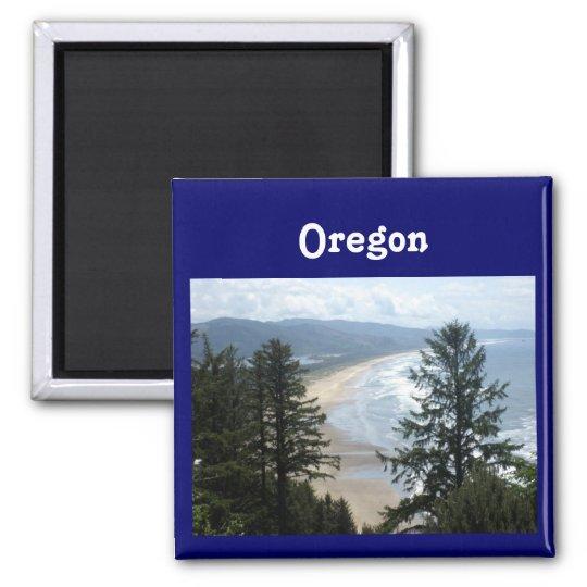 Oregon Coast Square Magnet
