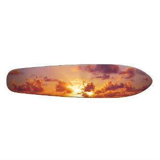Oregon Coast Sunset at the Beach Skate Deck